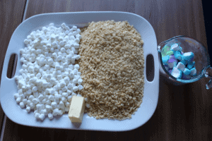 Marshmallow Peeps Treats Ingredients