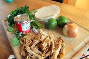 Adobo Pork Street Tacos