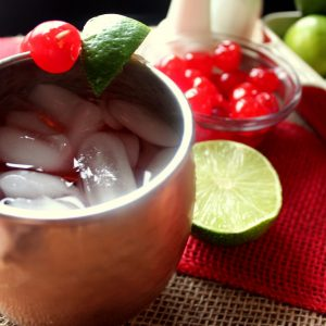 Cherry Limeade Moscow Mules