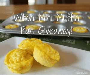 Wilton Mini Muffin Pan Giveaway FB