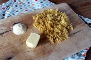 Butter Parmesan Noodles