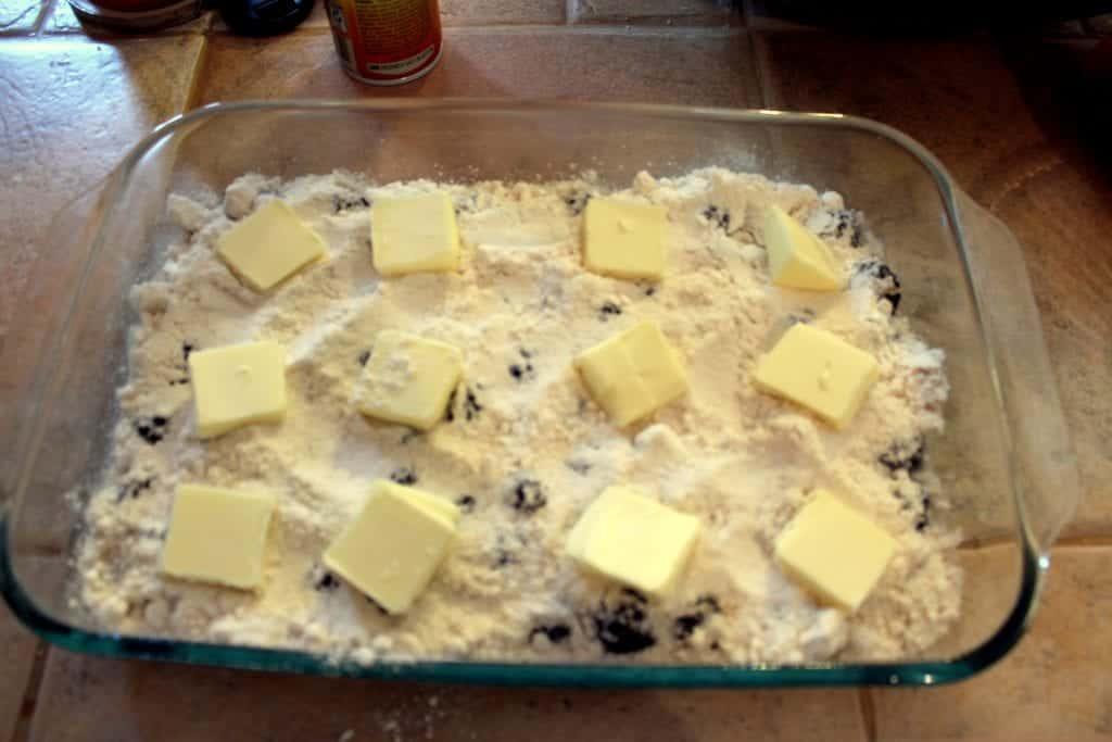 Blackberry Dump Cake
