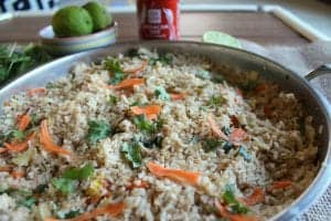 Thai Style Crab Fried Rice