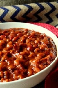 Secret Ingredient Baked Beans a 12