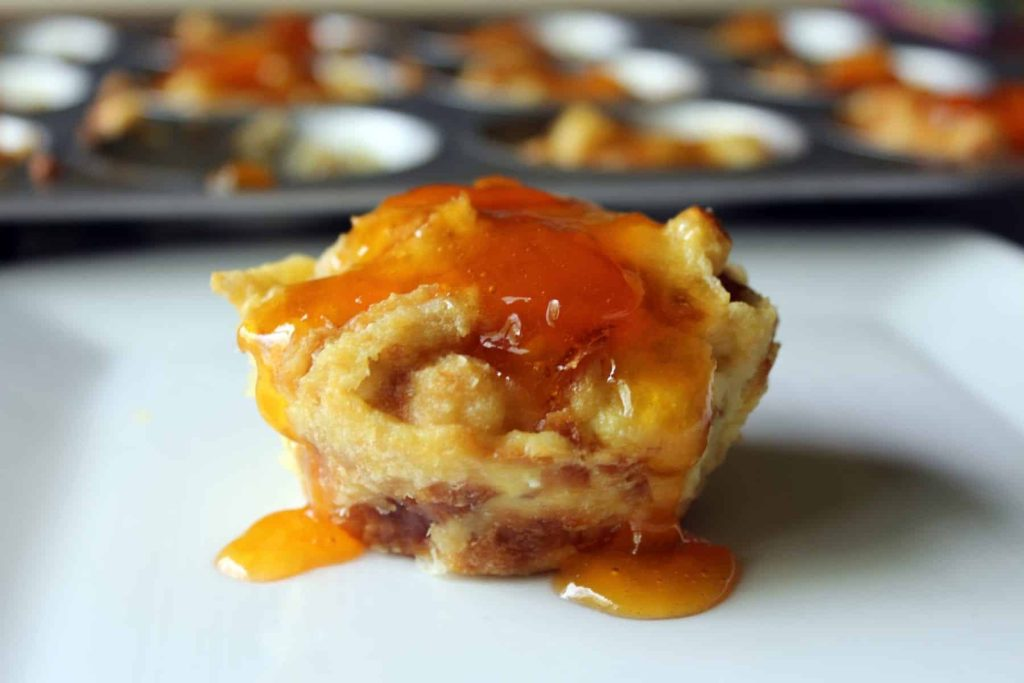 Almond Croissant Muffins with Apricot Glaze 13