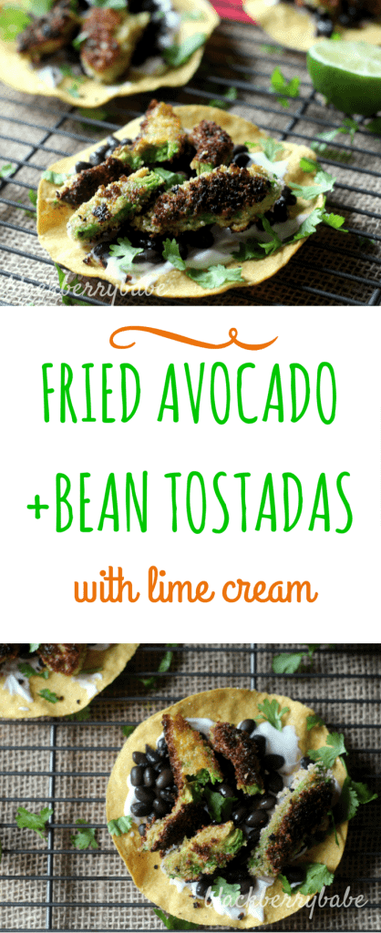Fried Avocado Tostadas Pinterest