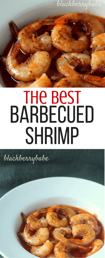 Rob's Famous Barbecued Shrimp Recipe