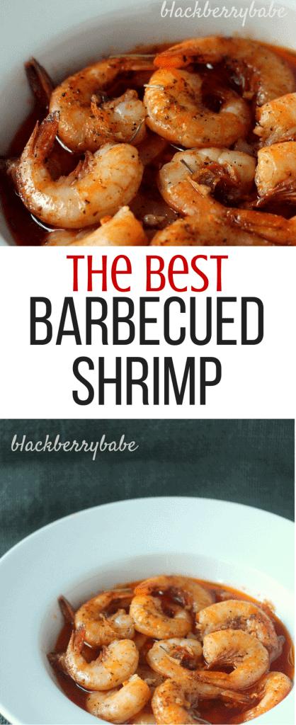 Rob's amous BBQ Shrimp