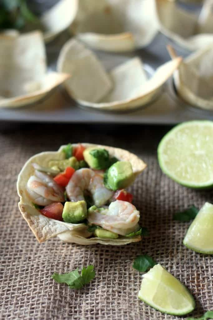 Shrimp and Avocado Ceviche Cups 5