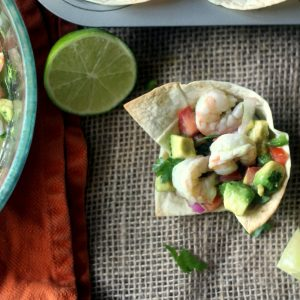 Shrimp and Avocado Ceviche Cups + $599 Breville Juicer Giveaway!