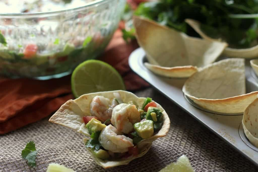 Shrimp and Avocado Ceviche Cups 7