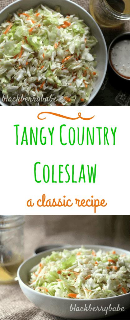 Vinegar Based Coleslaw (No Mayo Coleslaw)
