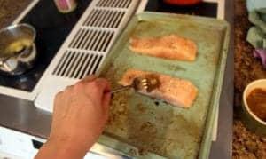 Whole 30 Jerk Salmon with Mango Pineapple Salsa 3