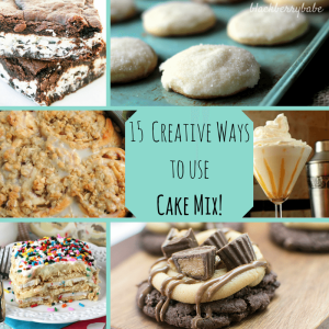 15 Incredibly Creative Ways to Use Cake Mix