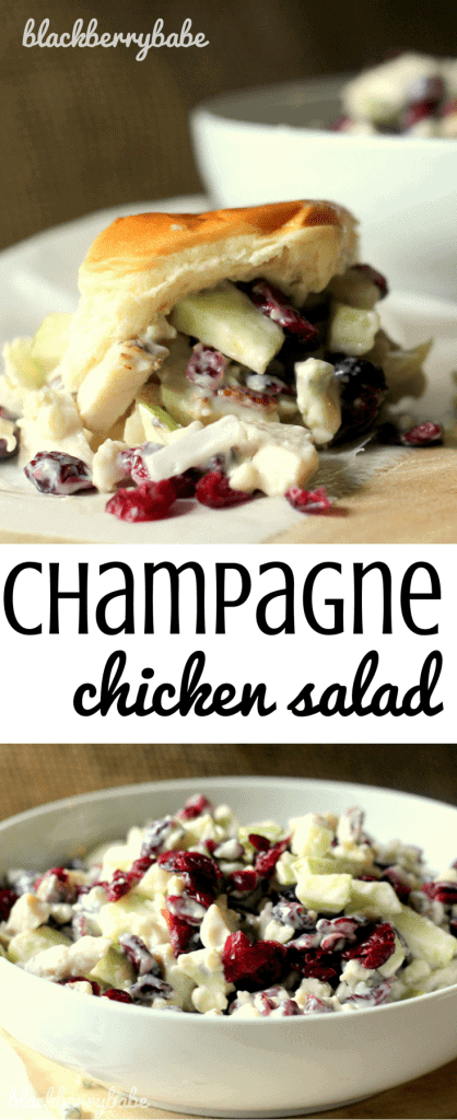 Champagne Chicken Salad