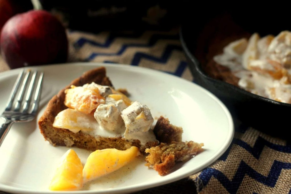 Peaches and Cream Cookie Pie 6 FG