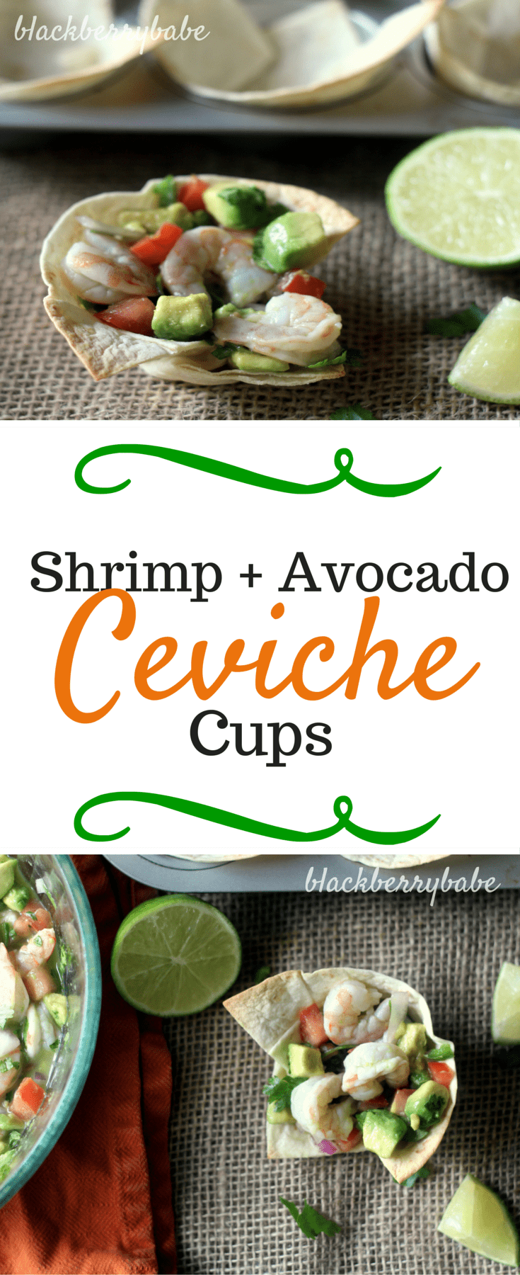Shrimp and Avocado Ceviche Cups - blackberry babe (1)