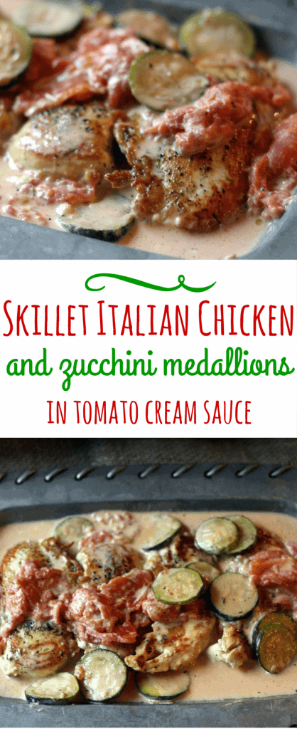 Skillet Italian Chicken Pinterest
