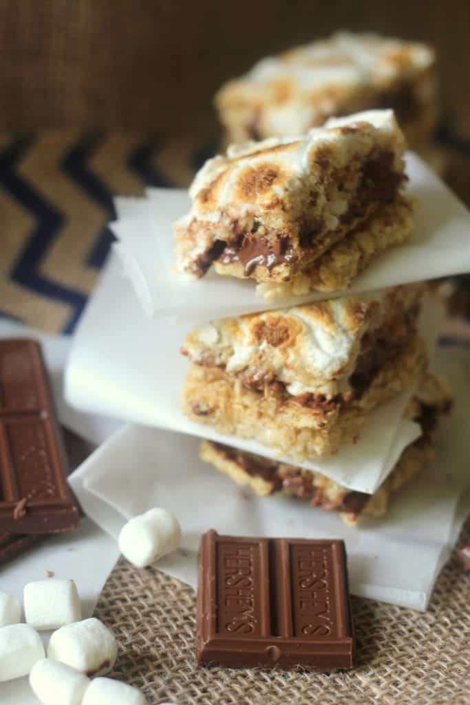 s'mores crispy treats