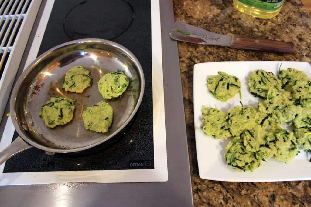 Parmesan Zucchini Fritters