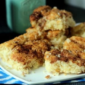Cinnamon Crumb Flop Coffee Cake