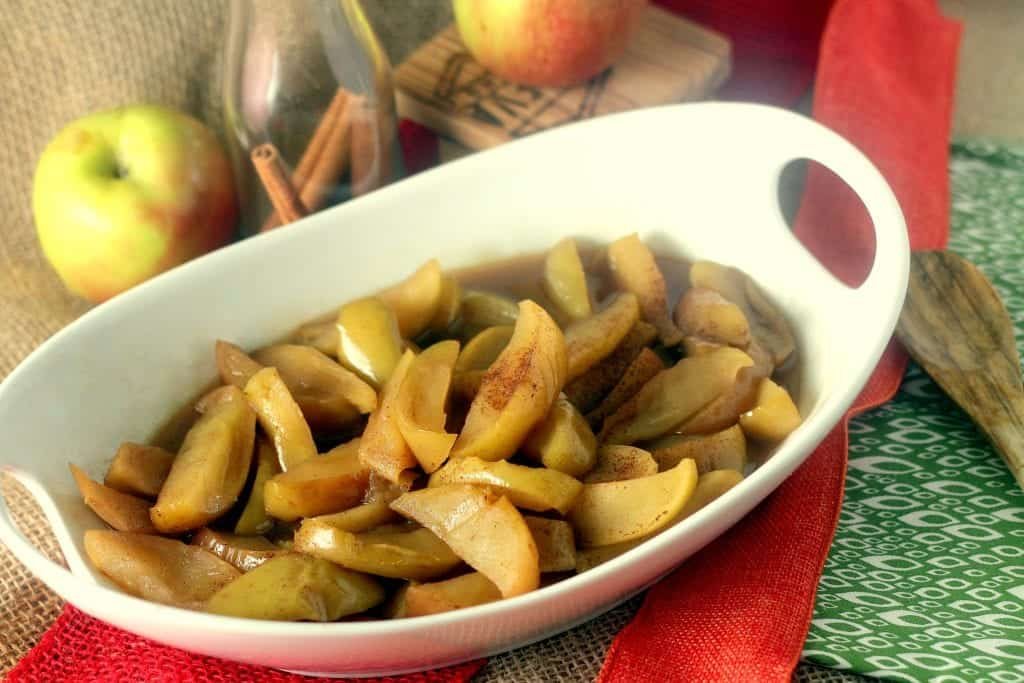 Cinnamon Fried Apples Feature