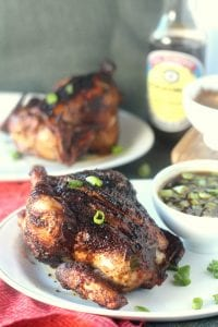 Five Spice Grilled Cornish Hens with Mongolian Grill Sauce 1