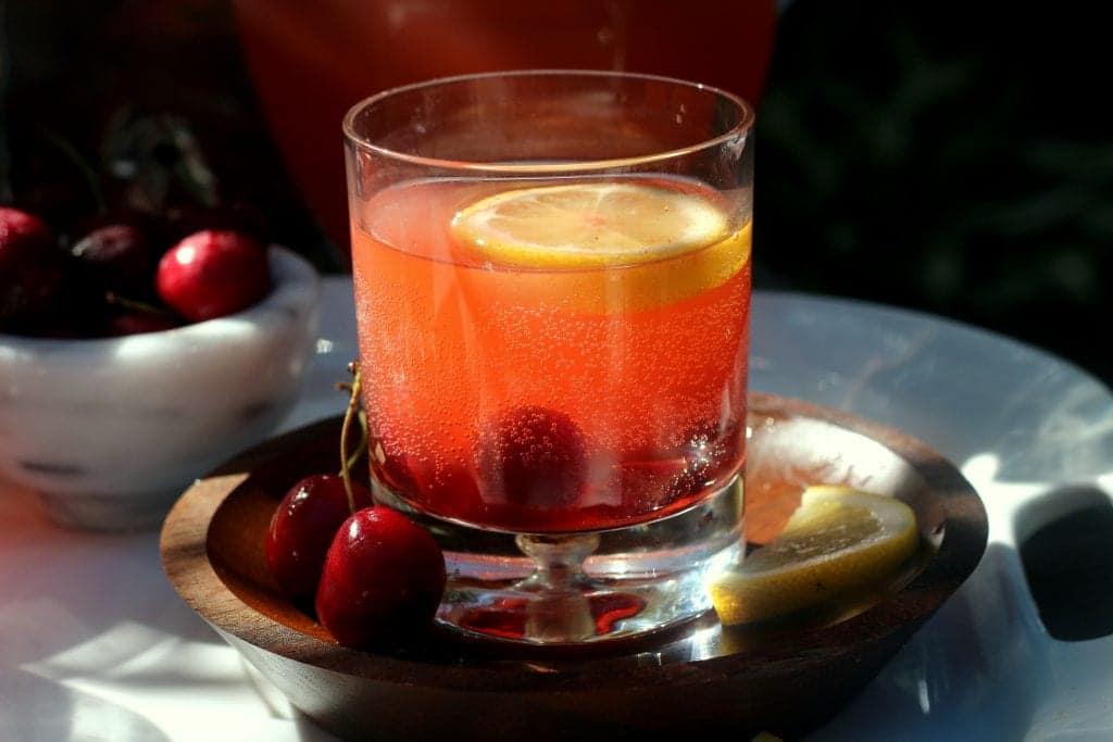 Fizzy Cherry Lemonade Cooler 2