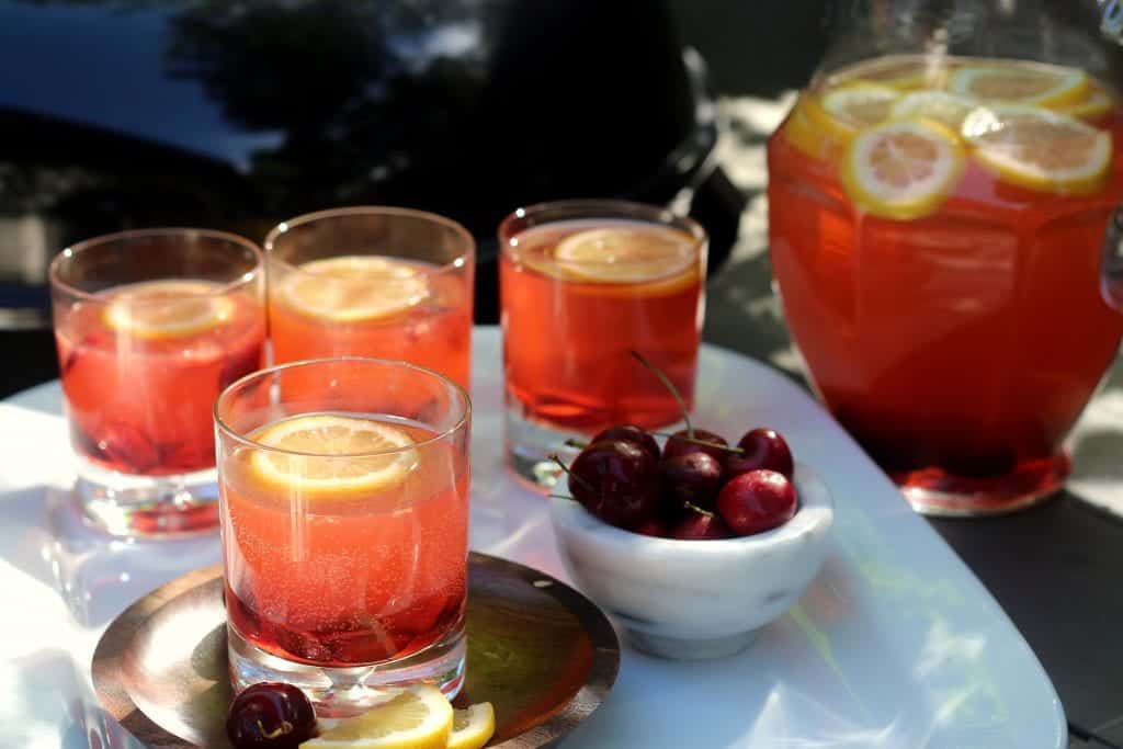 Fizzy Cherry Lemonade Cooler 3