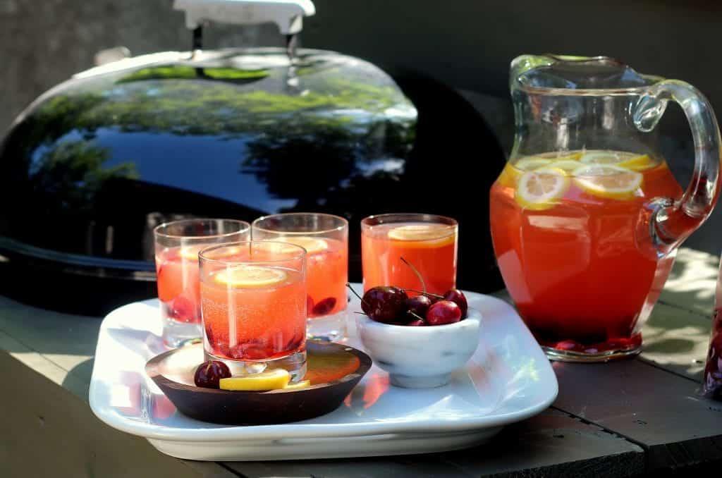 Fizzy Cherry Lemonade Cooler 4