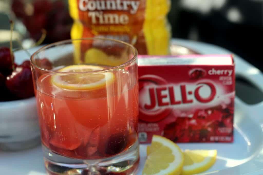 Fizzy Cherry Lemonade Cooler 5