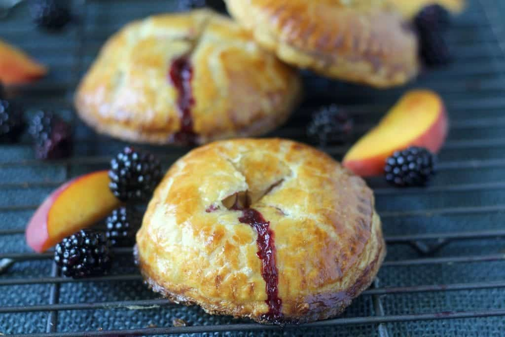 Fresh Blackberry Peach Hand Pie 12