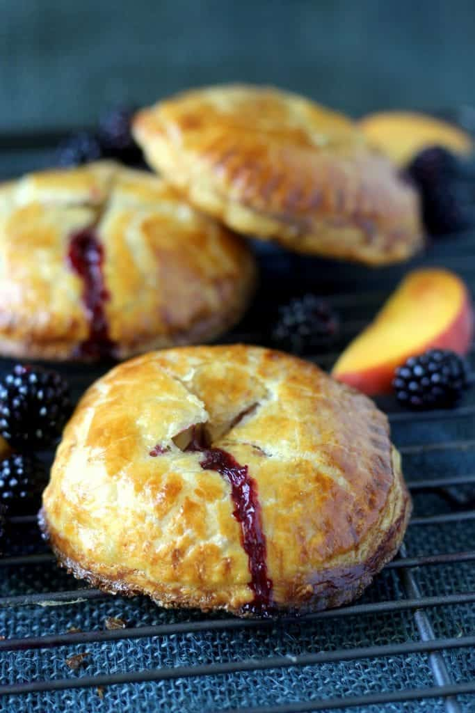 Fresh Blackberry Peach Hand Pie 8