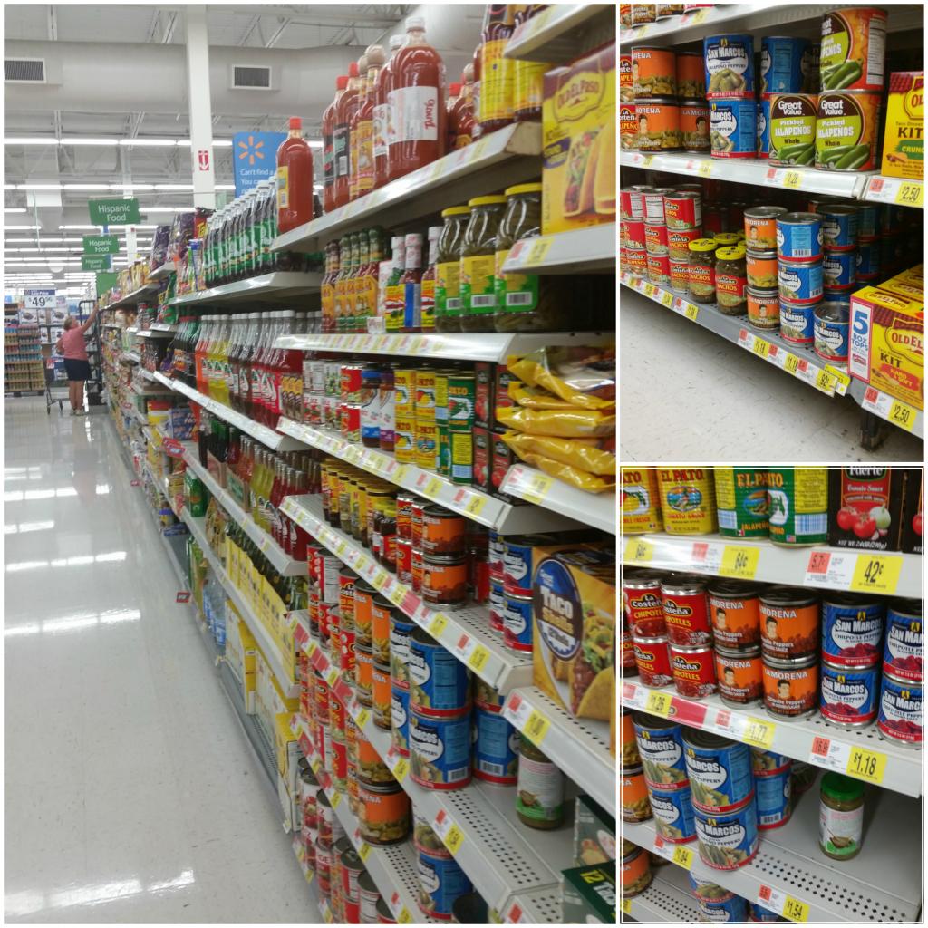 La Morena Walmart Hispanic Aisle