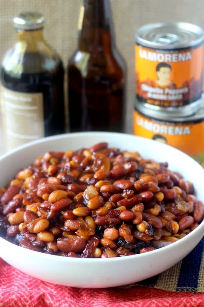 if you bring these smoky, spicy and slightly sweet baked beans ...