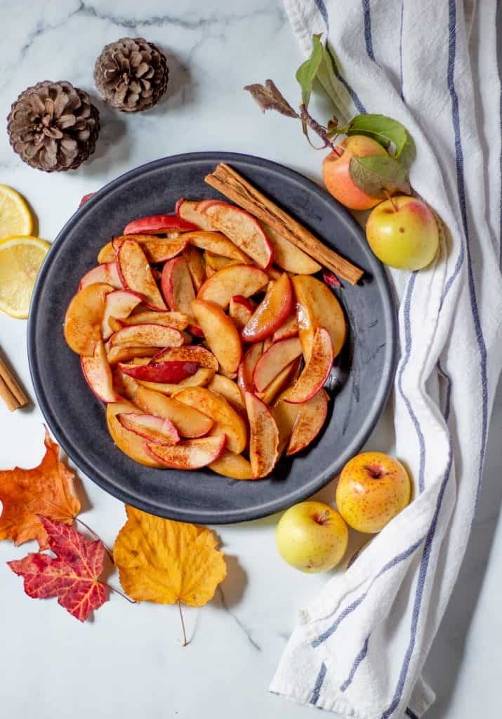 Cinnamon Fried Apples
