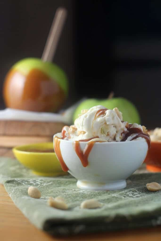 Caramel Apple No Churn Ice Cream 5