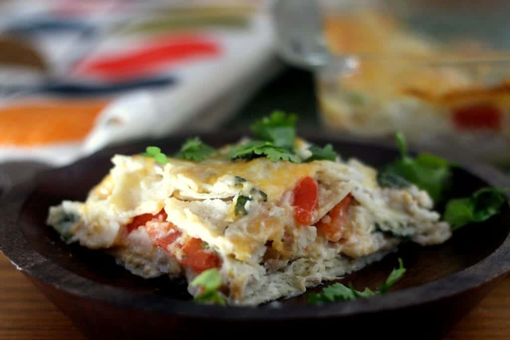 Salsa Verde Pork Casserole 2