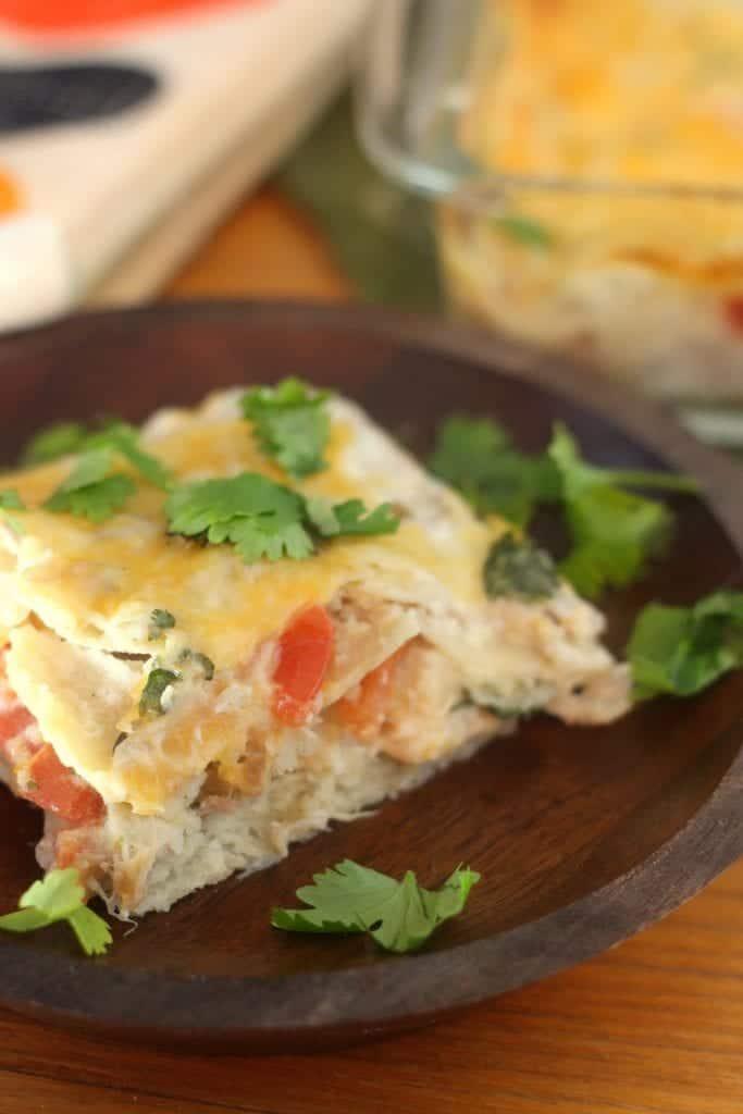 Salsa Verde Pork Casserole 4