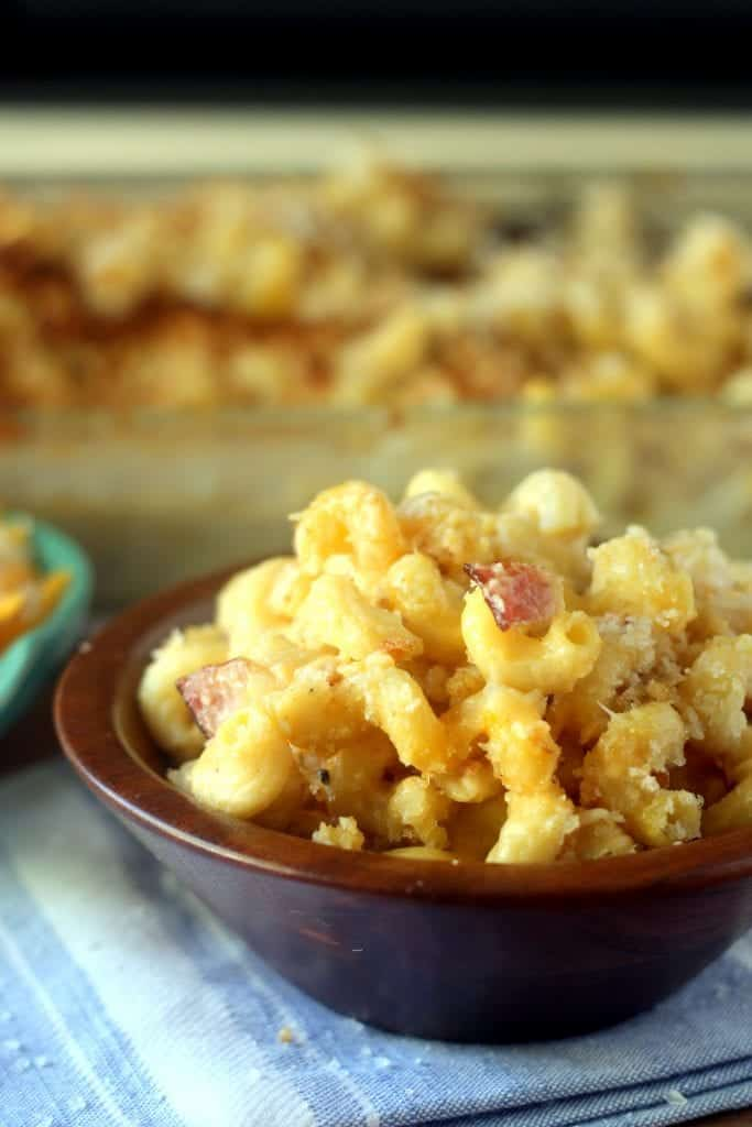 cavatappi mac and cheese
