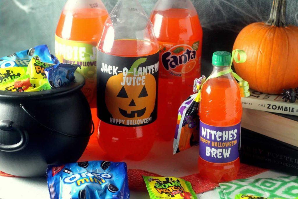 Free Halloween Bottle Printables 11
