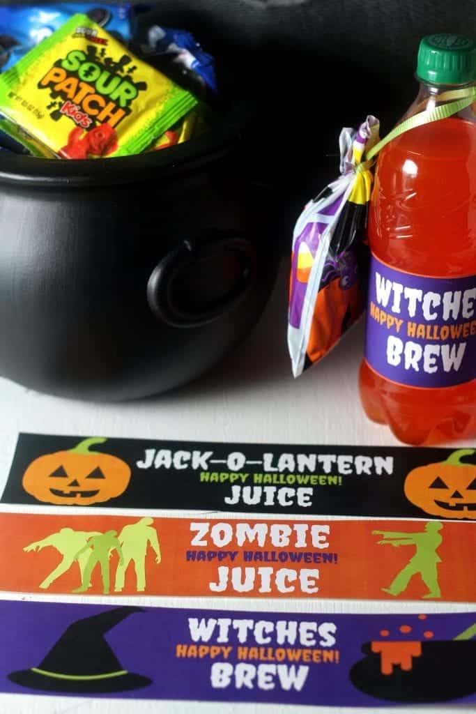 Free Halloween Bottle Printables 5