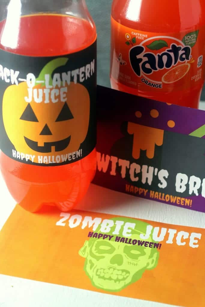 Free Halloween Bottle Printables 9