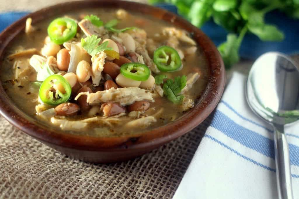 Low Carb Mexican Chicken Chili #NutritionMatters www.blackberrybabe.com