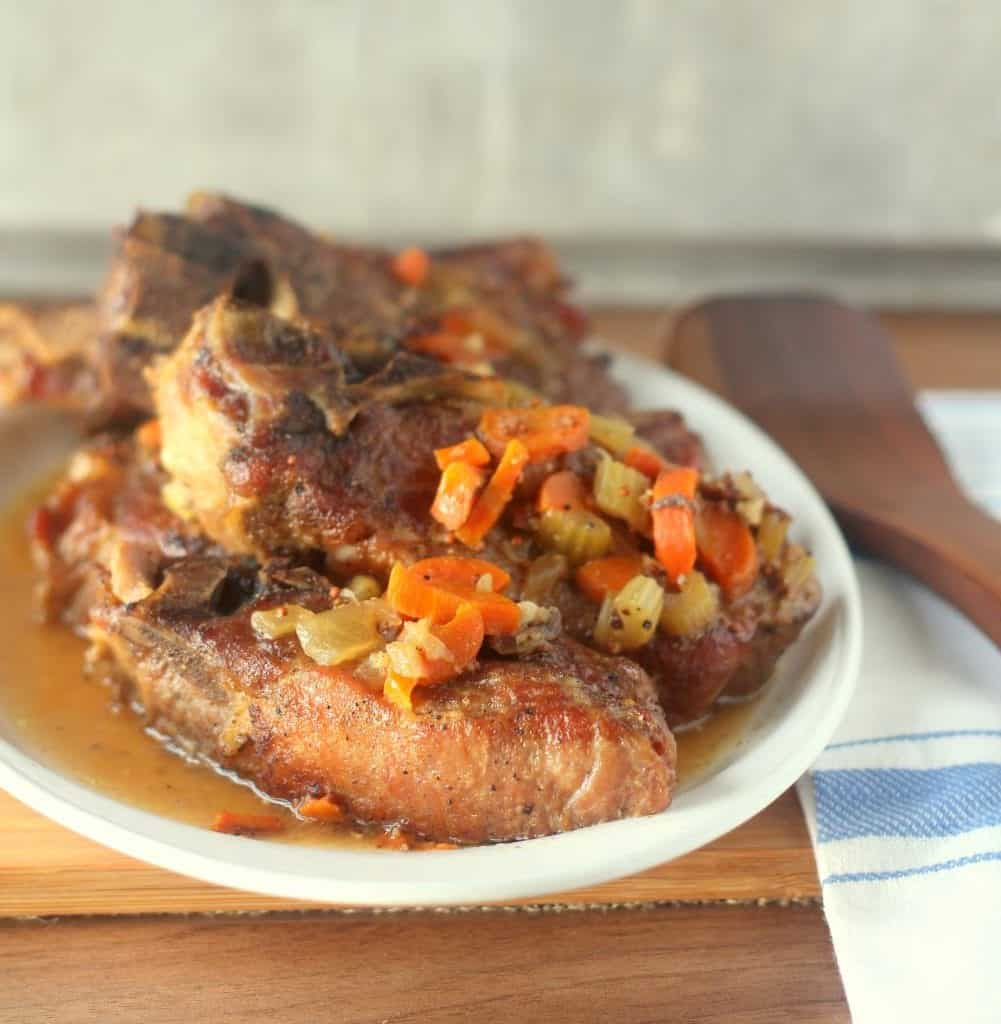 Mustard and Beer Braised Country-Style Pork Ribs 3