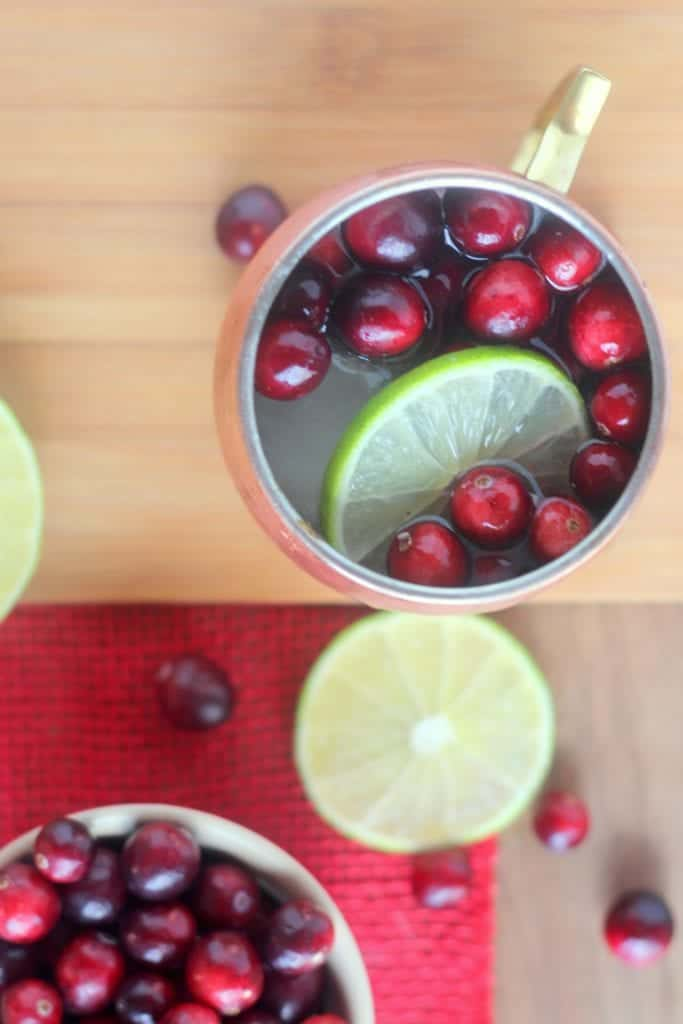 Cranberry Moscow Mules Recipes