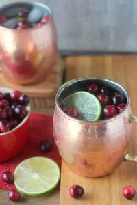 Cranberry Lime Moscow Mules 3