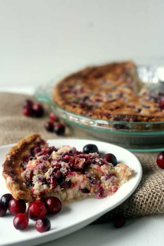 Easy Cranberry Buttermilk Pie 3