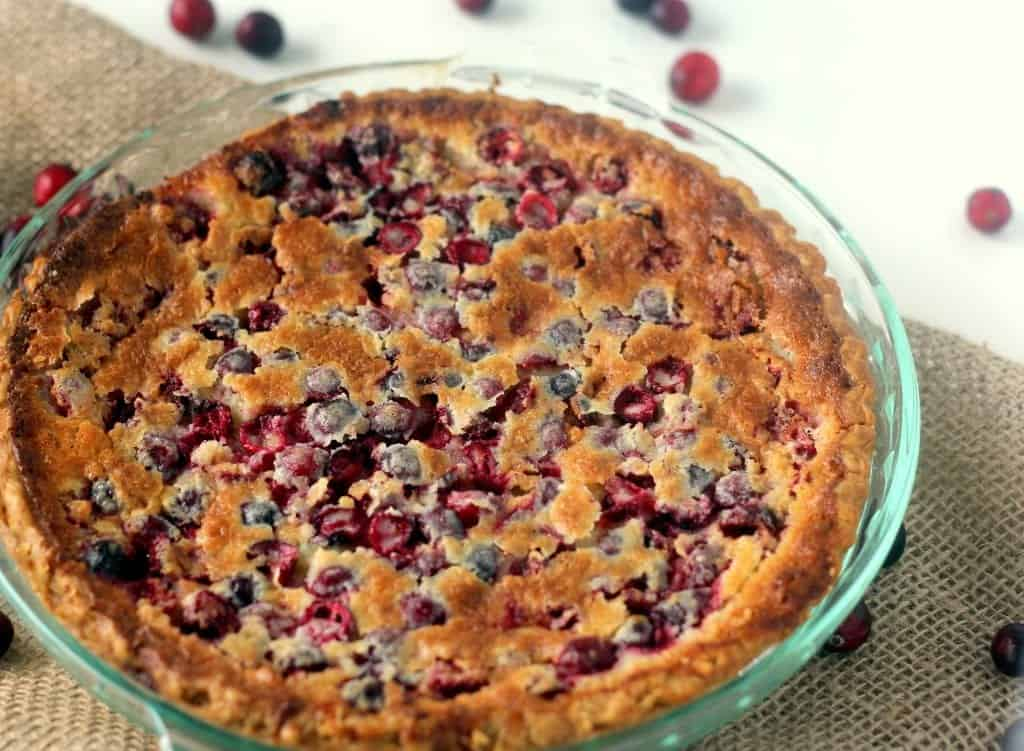 Cranberry Buttermilk Pie Recipe
