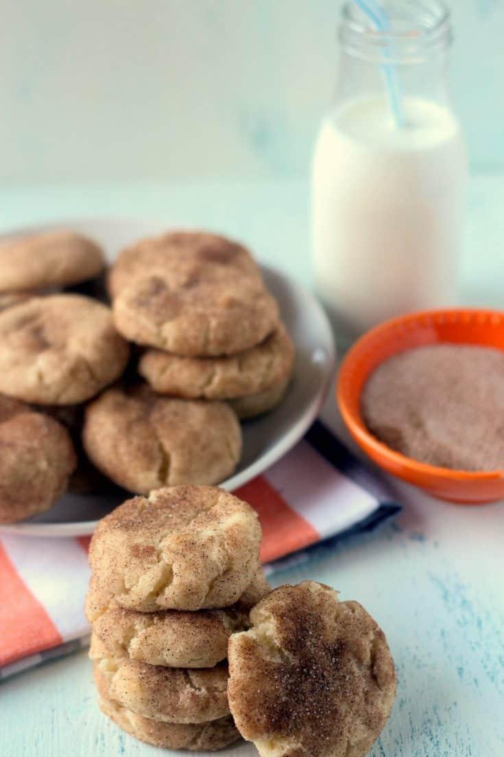Grandma's Perfect Snickerdoodle Cookies (No Cream of Tartar)